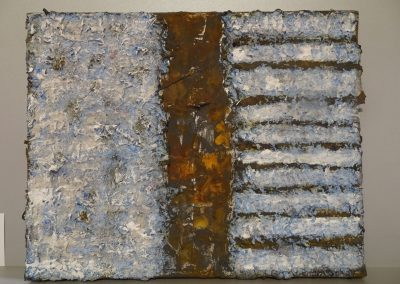 Elke Czudai: o.T., 36x24, Mischtechnik