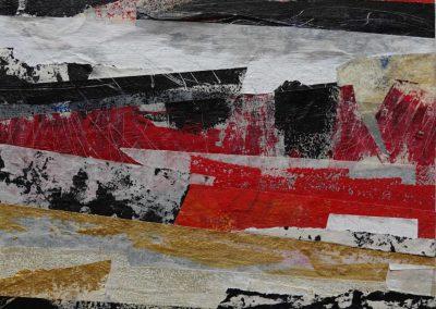 Carola Weber-Schlak: KF Rot III (2020), 25x25