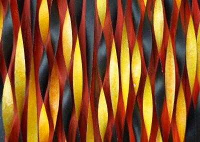 Carola Weber-Schlak: 4 Elemente - Feuer (Ausschnitt)